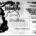 Woman in His House